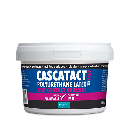 cascatact solvent free contact adhesive 250ml - 2.5ltr Pre- Order