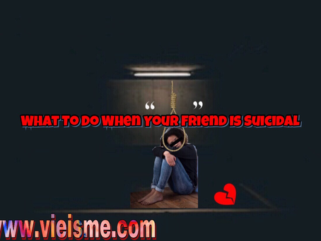 What To Do When Your Friend Is Suicidal
