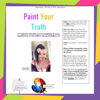 Paint Your Truth 11.17.18 www.vieisme.co