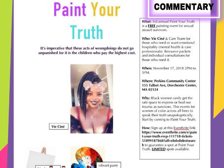 Emotional Wellness: Paint Your Truth 11.17.18