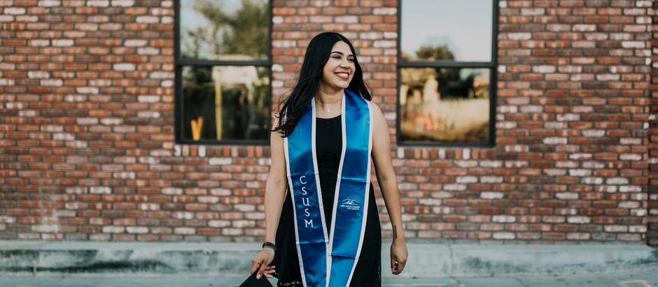 Graduate, Erika
