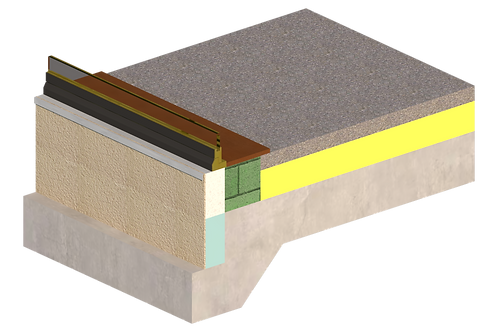 Thermal Bridging - External Insulation - 501 Threshold