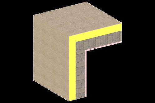 Thermal Bridging - External Insulation - 301 - Wall Corner