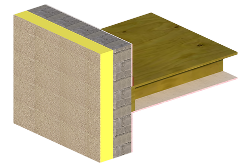 Thermal Bridging - External Insulation - 101 - Int Floor