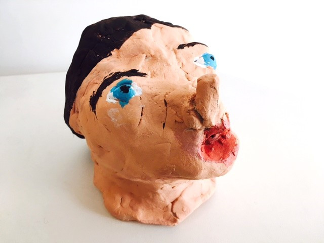Clay Bust created by SDP Participant