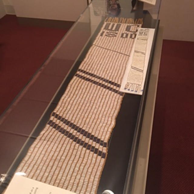 Wampum Belt at Onondaga Historical Museum