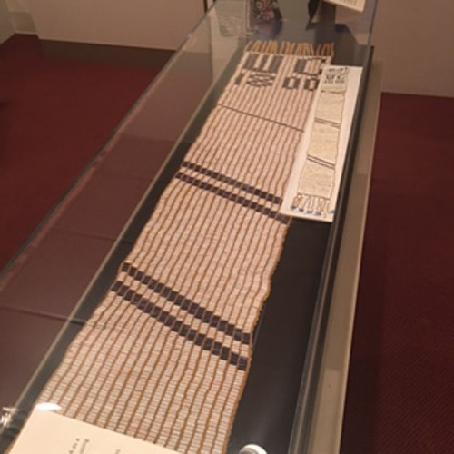 Wampum Belt at Onondaga Historical Museum
