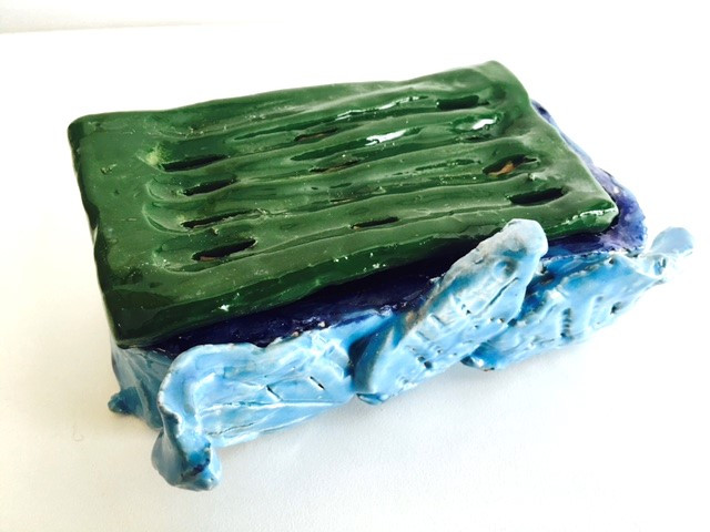 Decorative Soap Dish created by SPD Participant