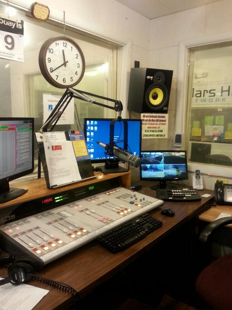 Tour of Radio Station from Radio Hosts