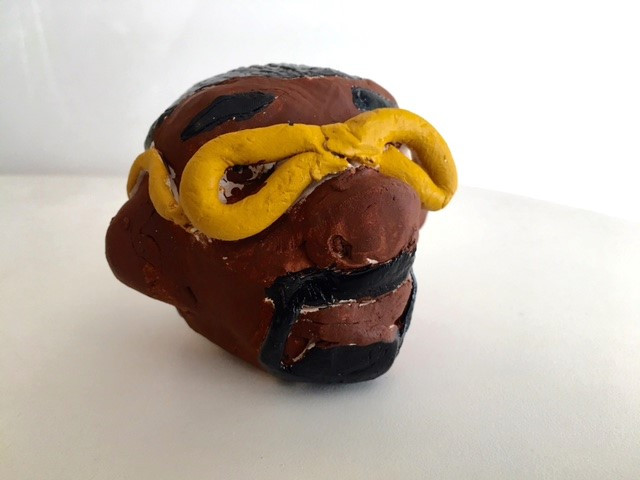 Clay Art Project created by SDP Participant