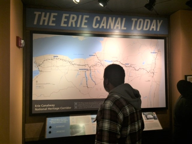 Tour of the Erie Canal Museum