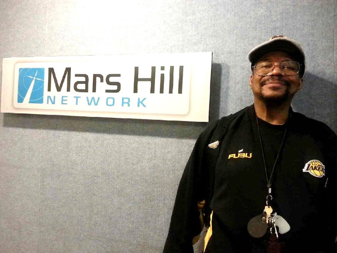 Outing to Mars Hill Network Radio Station