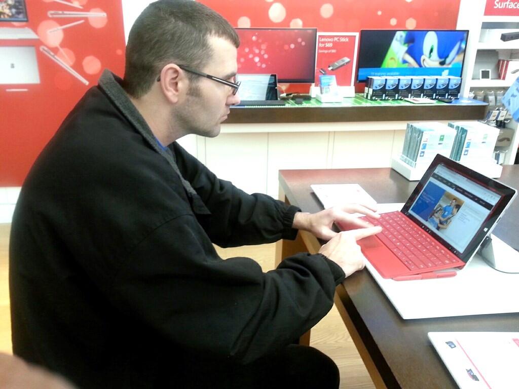 Exploring games at the Microsoft Store