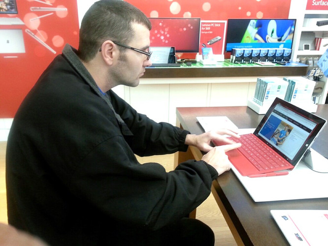 Exploring games at the Microsoft Store