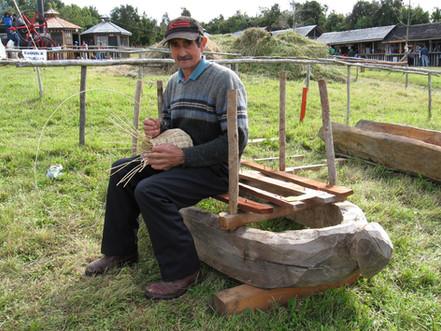 La madera en Chiloé