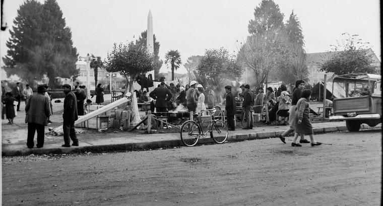 43.Plaza de Armas de Castro. Ollas comunes.