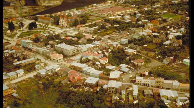 Castro, vista aérea, enero de 1965.