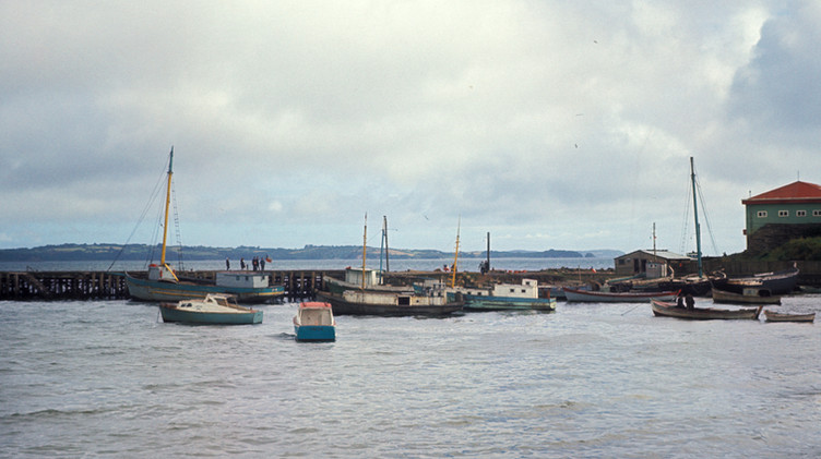 Puerto de Ancud, 1965.