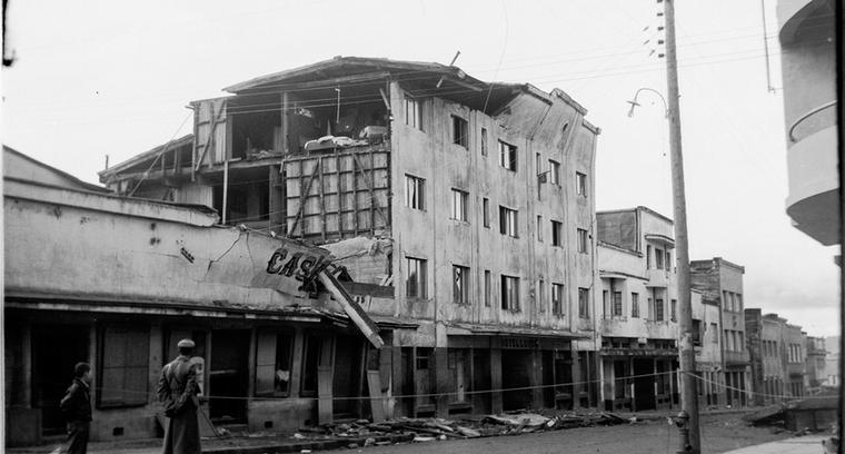 35.Calle Blanco, esquina esmeralda. Hotel Luxor.