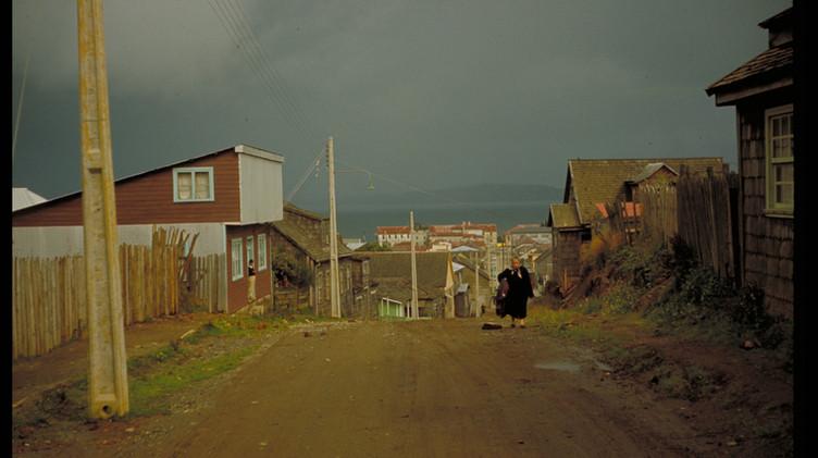 Sector alto de Ancud, 1965.