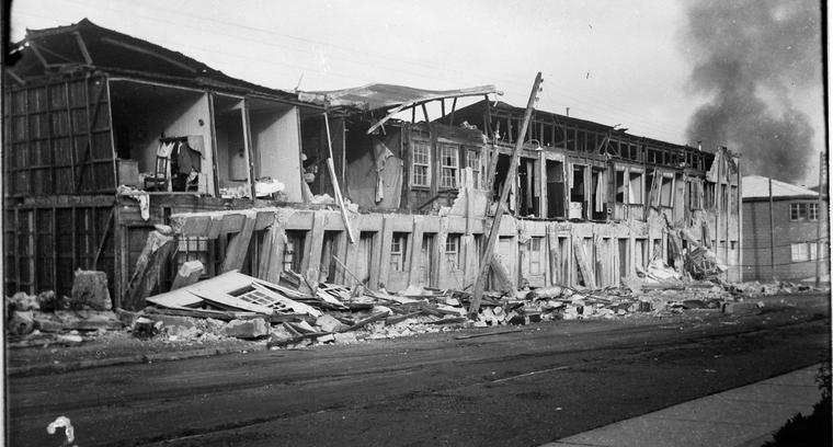 12.Calle Serrano. Consecuencias del desastre.