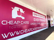 Wide format banner and stickers indoor.j