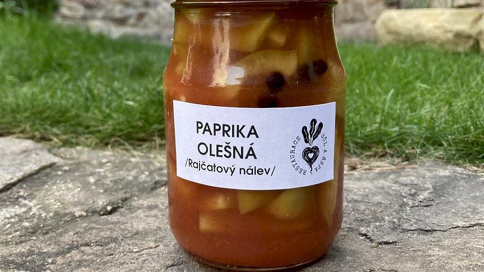 Paprika / Olešná / rajčatový nálev