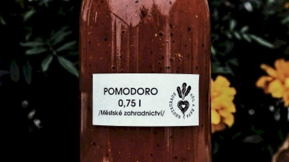 Pomodoro / Městské zahradnictví + saturejka od Františka / 0,75