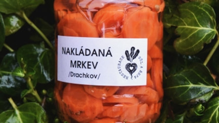 Nakládaná mrkev / Drachkov / 370ml