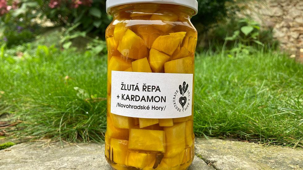 Novohradská žlutá řepa + kardamon / nálev / 0,37l