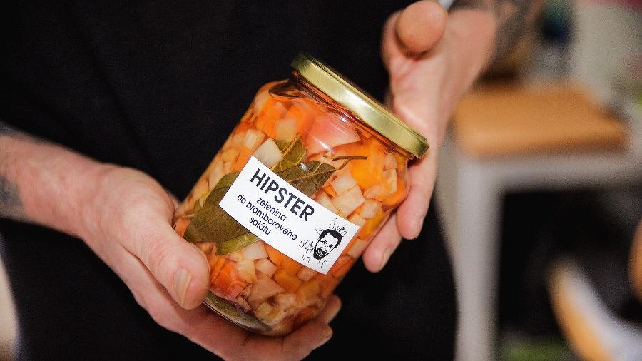 HIPSTER 0,72l zelenina do bramborového salátu / celer, petržel, pastiňák, mrkev,