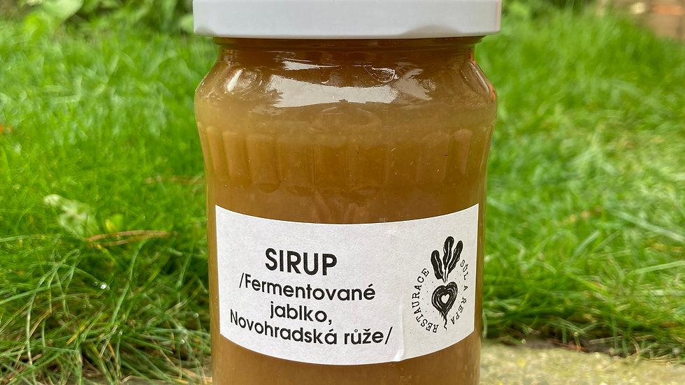 Sirup Jablko + hřebíček + novohradská růže 0,37ml