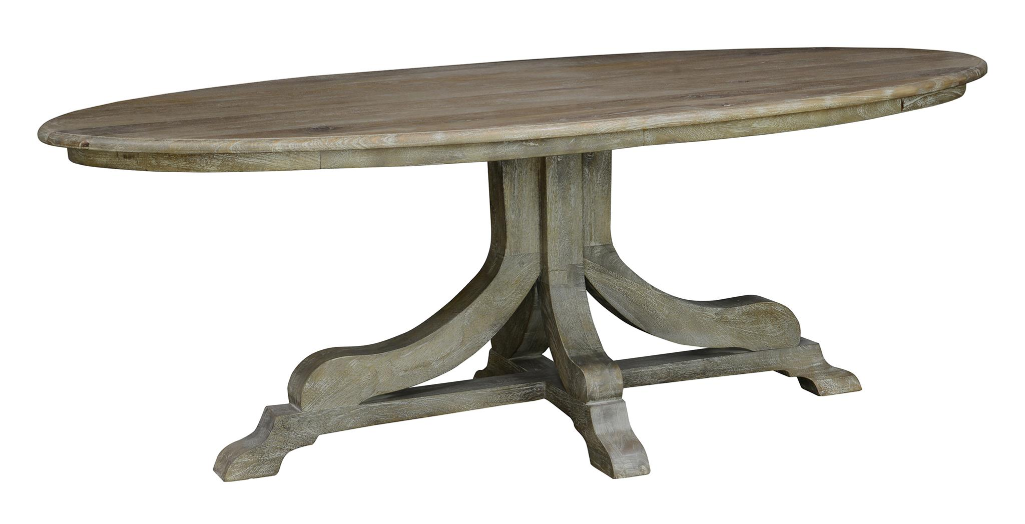 51010765 Aimee Oval Dining Table