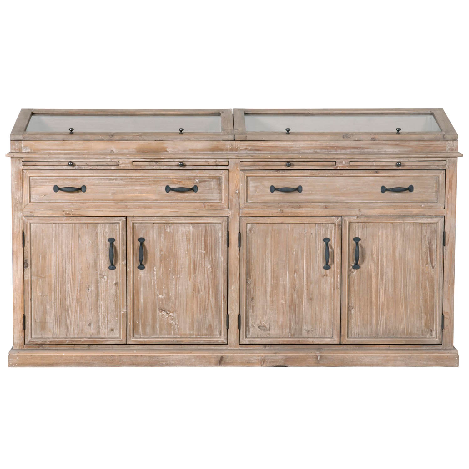 Hamilton Sideboard - Smoke Gray - 1