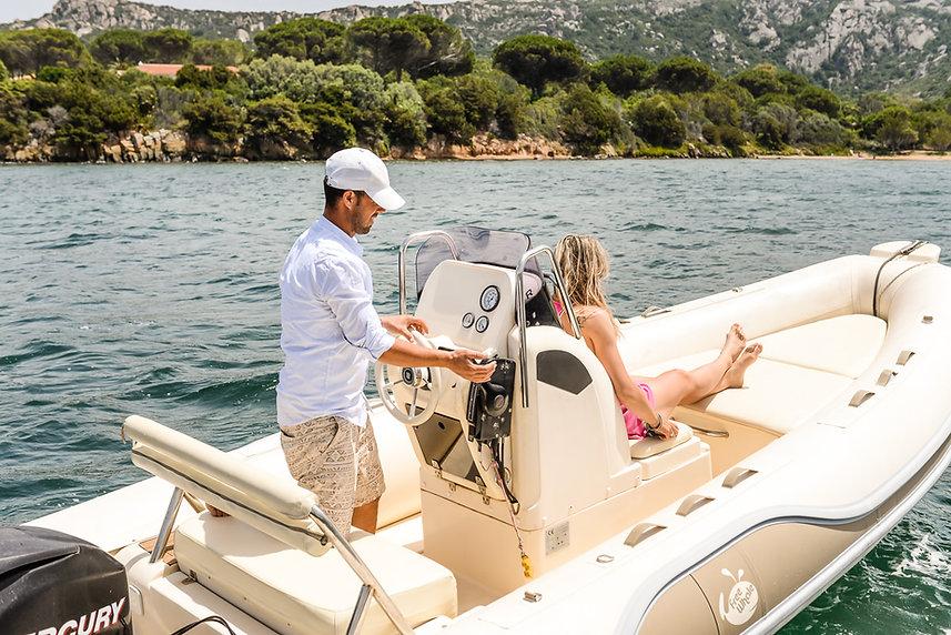rent a boat sardinia