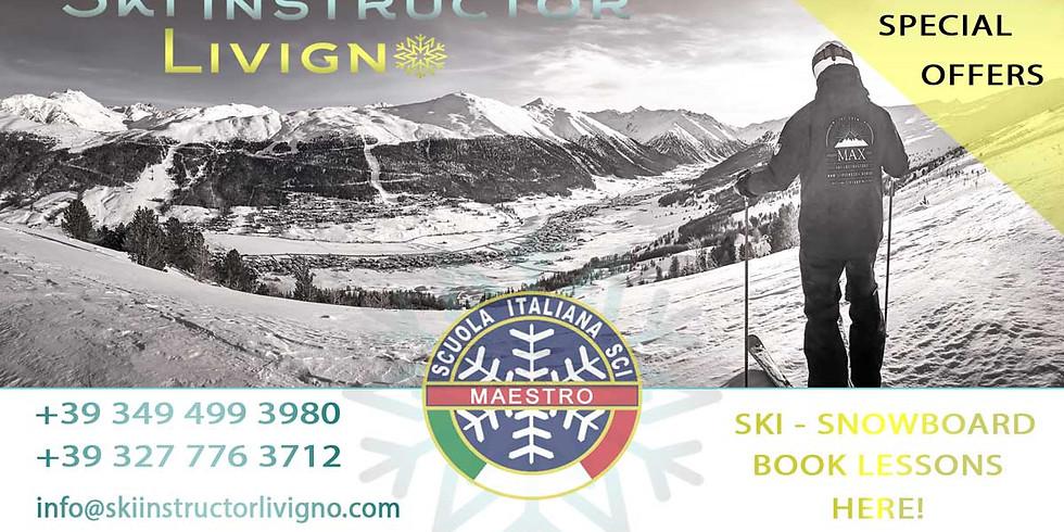 Ski Lessons Gift Voucher