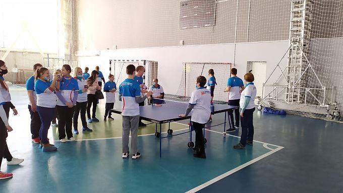 На базе Дворца спорта «Юность» состоялся Фестиваль «ГТО без границ»