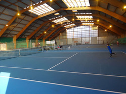 Courts couverts en greenset