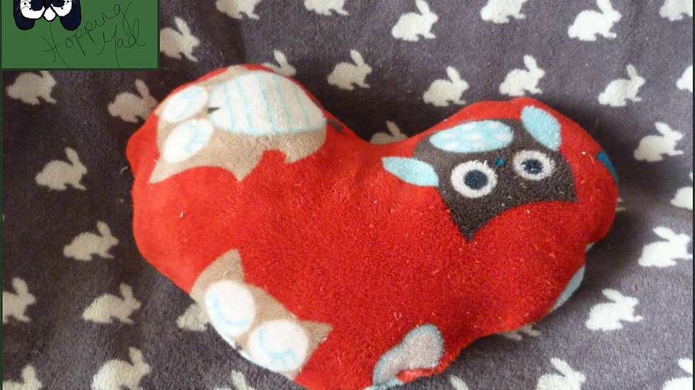 Honeybunnies Heart Cushion - Large
