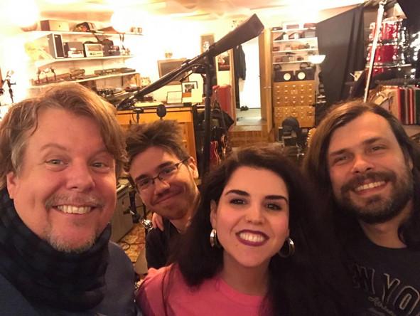 Recording at Grand Street