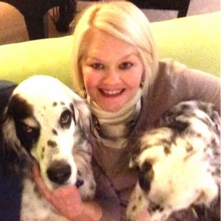 Author Deborah Hufford and dogs.jpg