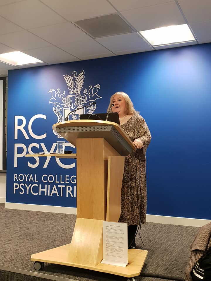 Beth speaking at the RCP