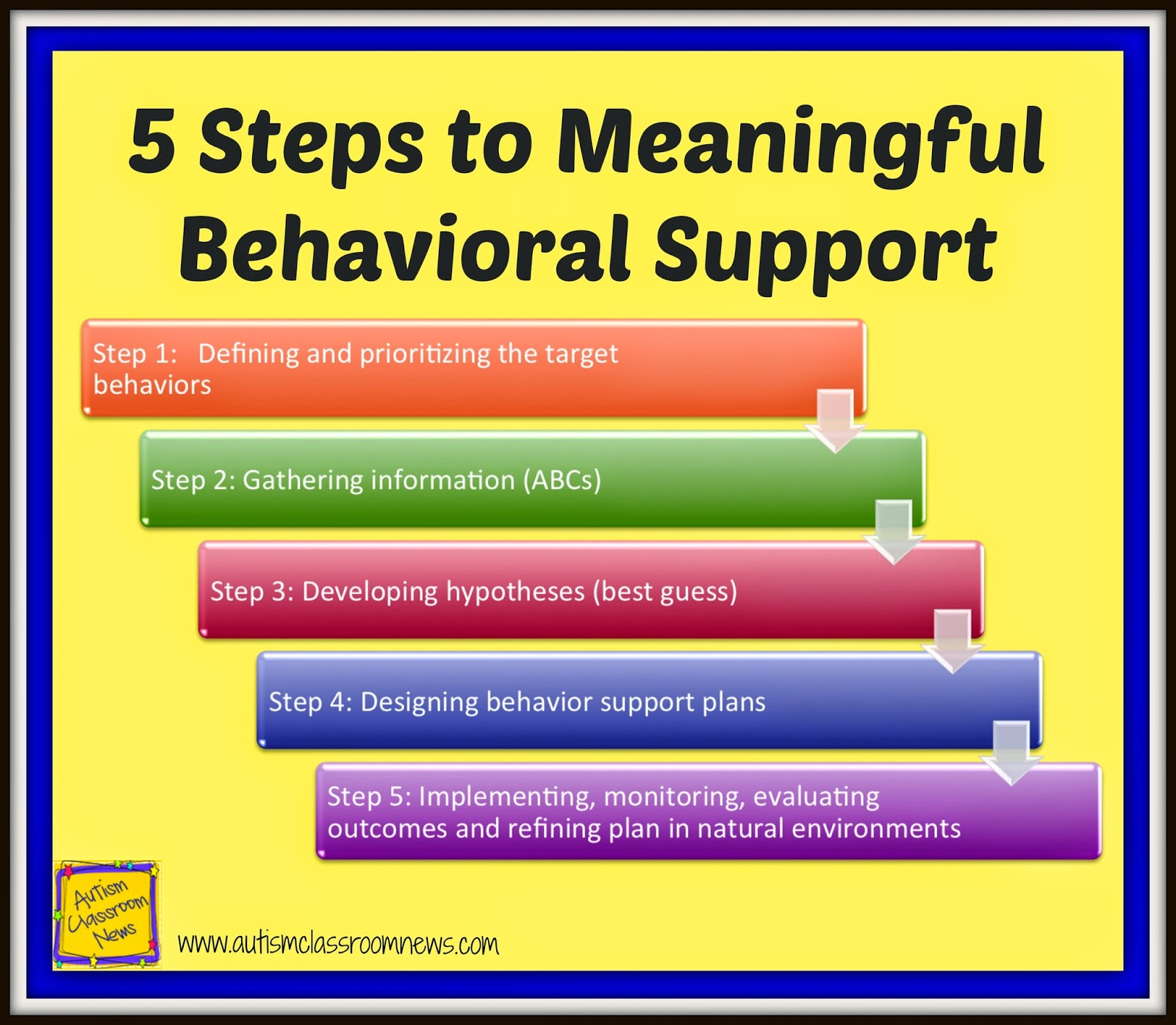 Five Steps to Behavioral Support