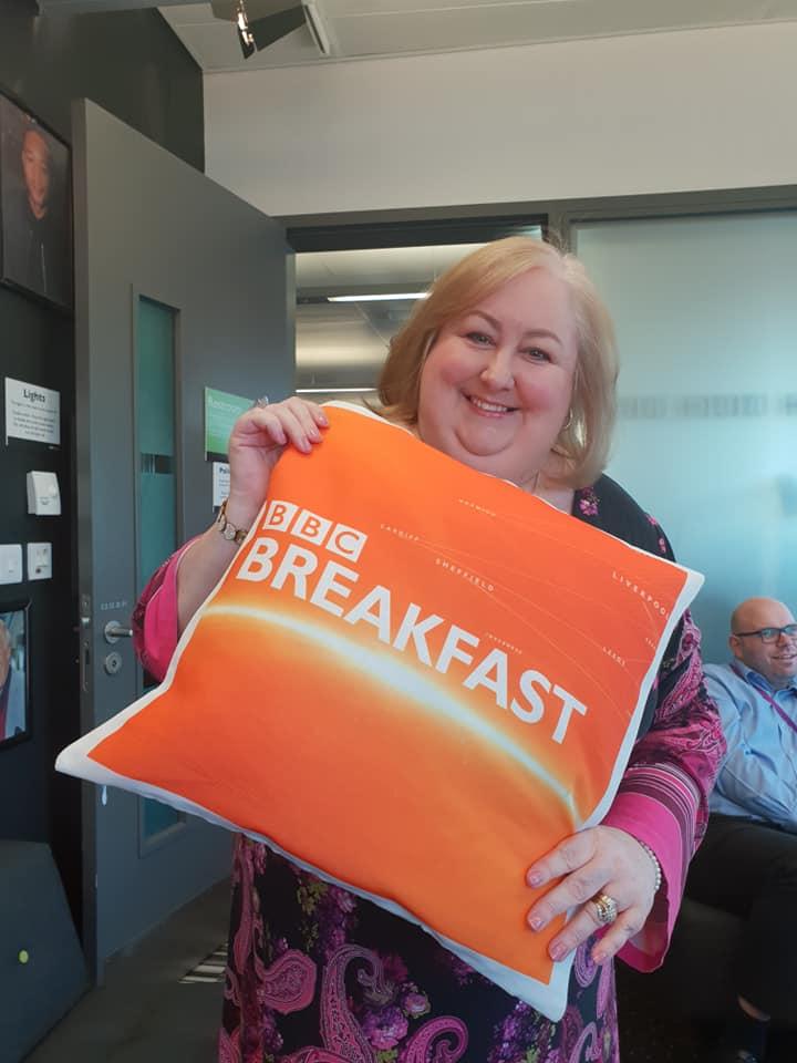 Beth at BBC Breakfast