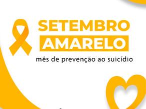 Setembro Amarelo - Agir salva vidas!