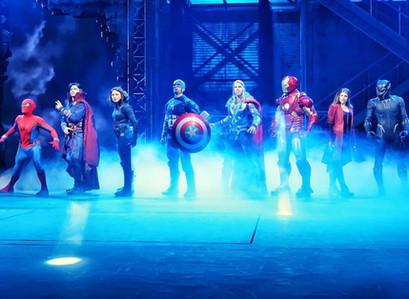 "The new ""Marvel Superheroes united"" at Disneyland Paris runs on zactrack"