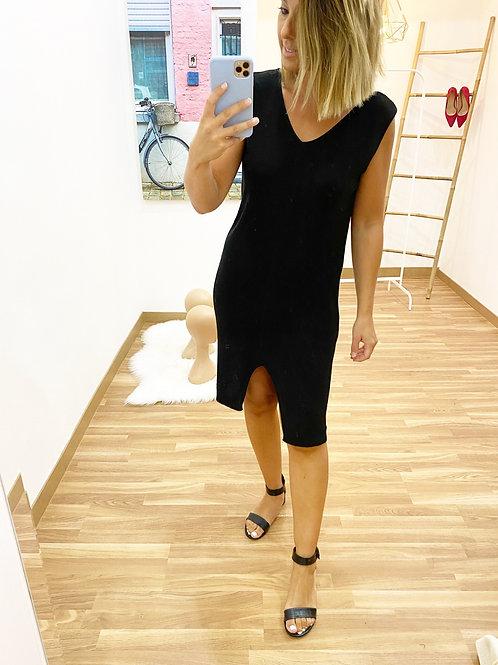 Vestido punto Andrea negro