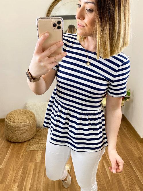 Camiseta marinero lazo