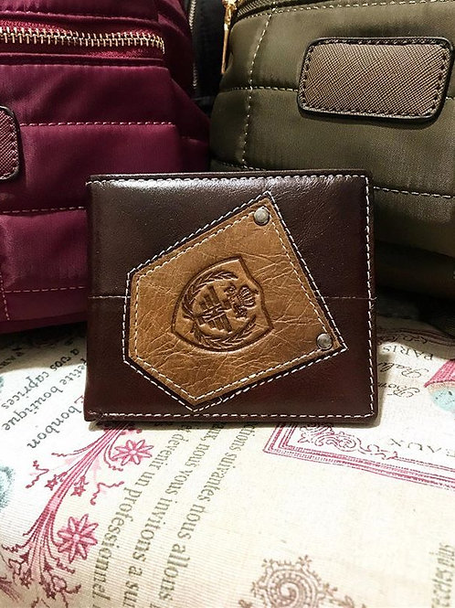 CARTERA POLIPIEL CHOCOLATE