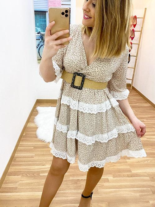 Vestido La Toscana beige